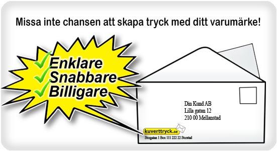 billiga kuvert